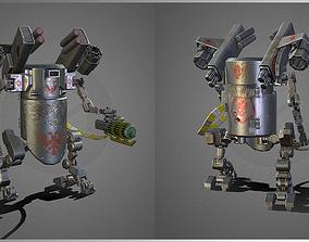 Barrbot mecha 3D asset
