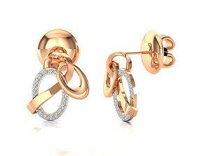 hoopsandhuggies Earrings-63 3D print model