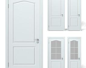 White Door set 3D