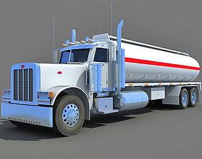 Heavy Tanker Truck vehicle 3D model
