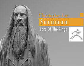 Christopher Lee - Saruman - Lord of the 3D print model