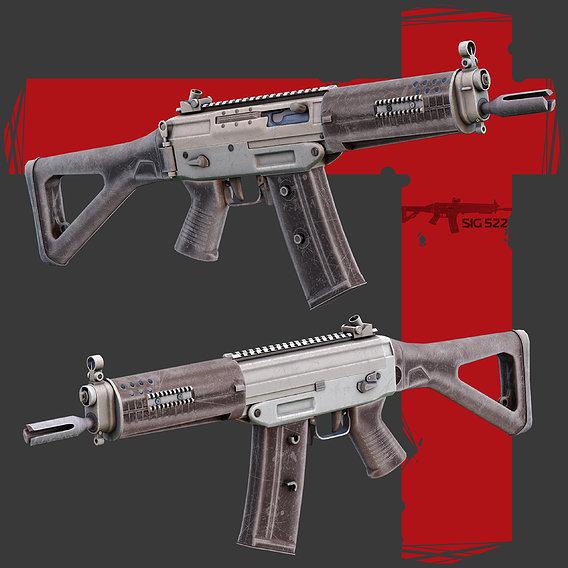 Sig522  Gun