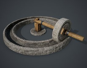 Old Mill 3D asset