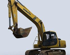road Excavator 3D asset realtime