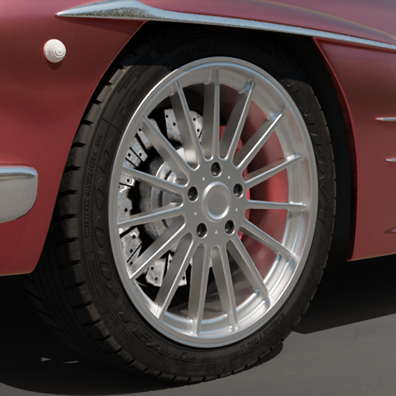 Tire Sidewall Detail