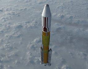 Nippon H-II Rocket 3D model