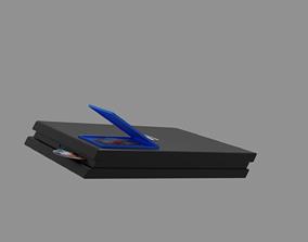 PlayStation 4 slim 3D asset