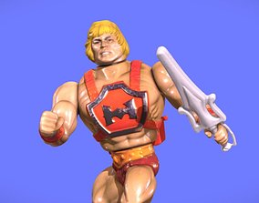 80s MOTU HE-MAN FIGURE - 3D SCAN