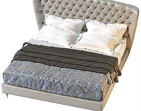Savoi bed Black Tie 3D model