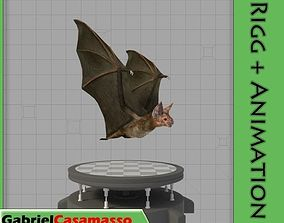 Vampire Bat 3D model animated