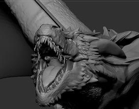 3D printable model Drogon from Game of Thrones
