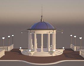 3D Rotunda summerhouse