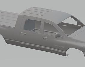 Dodge Ram 2500 Printable Body Truck