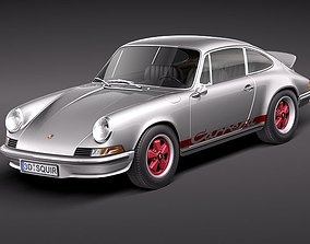 Porsche 911 Carrera RS 1973 3D model