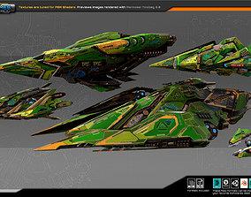 3D model Spaceships Vol-15