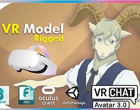 Pina Beastars VRChat Avatar Oculus Quest 3D model