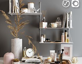 3D Decorative set for dressing table