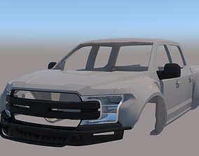 Ford F150 Debertif 1-10 Body 3D printable model