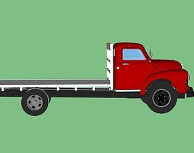 Bedford Truck 3D Model