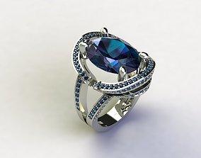 3D print model Saphire Ring