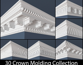 30 Crown Molding Collection 3D model
