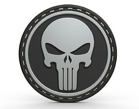 3D Punisher logo