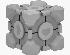 game Portal Love Cube 3D PRINT