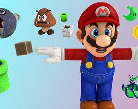 3D model Super Mario Pack -rig-
