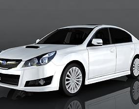 3D model Subaru Legacy B4