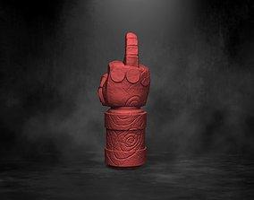 Hellboy Middle Finger of Doom Right Hand of 3D print model