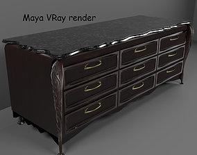 Long Dresser 3D