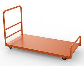 3D model Generic Cart Heavy Duty Transport 01