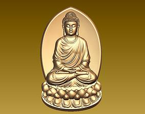 Buddha pendant 3D printable model