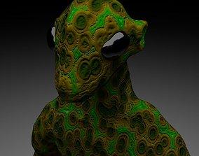 3D model Alien Reptile 1 - Material b
