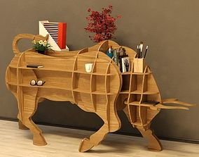 Cofee table Bull 3D