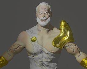 3D rigged ZEUS-warrior