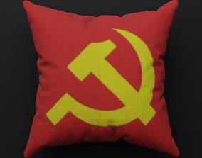 3D asset Pillow - Soviet - PBR