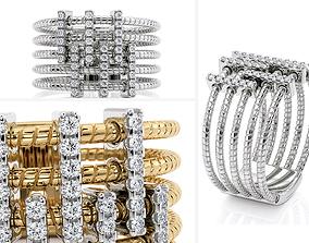 3D print model R 0262 Jewelry springs ring