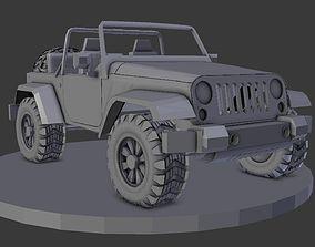 wrangler jeep 3D model