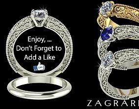 ring Wedding Ring 3D printable model