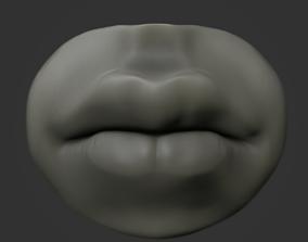 3D model Mouth