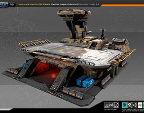 RTS Landing Pad - 18 3D model