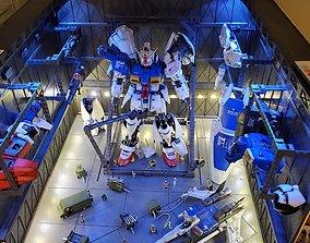 1-60 Hangar Files for Gundam Kits 3D print model