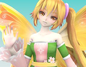 Bell Butterfly Fairy 3D