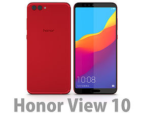 Huawei Honor View 10 Charm Red 3D