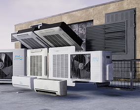 3D asset Air Conditioning Pack