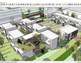 3D model Sketchup kindergarten B8