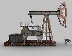 3D Oil Pump model