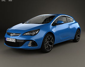Opel Astra J OPC 2011 3D model