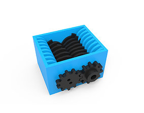 Extreme Powerful Crusher 3D printable model
